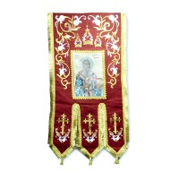 Saint Sava Flag