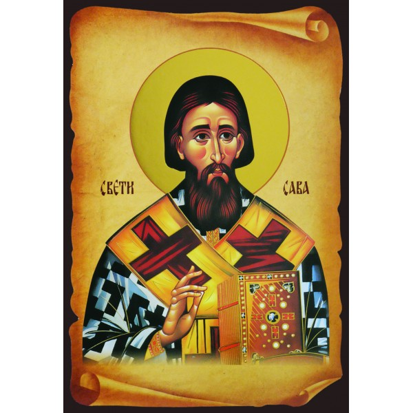 Icon of St. Sava