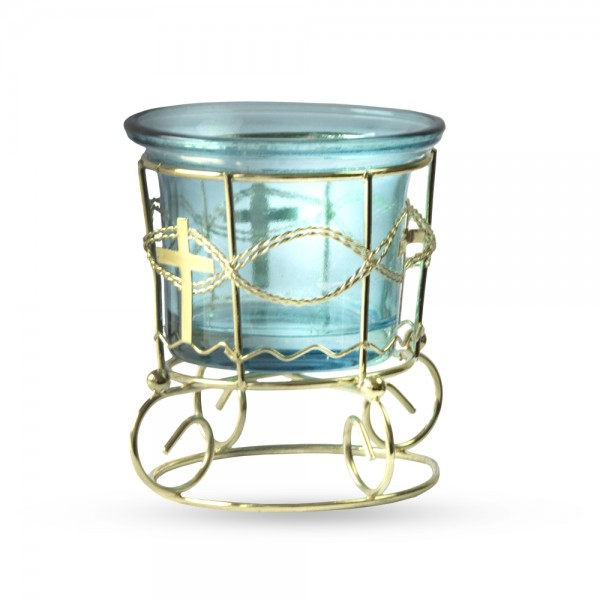 Chandeliers small blue